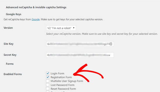 enablerecaptchaforwordpressloginandregistrationform netking