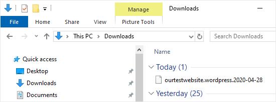 downloaded navigation menu export file netking